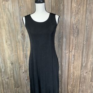 Cold water creek stretchy long maxi dress